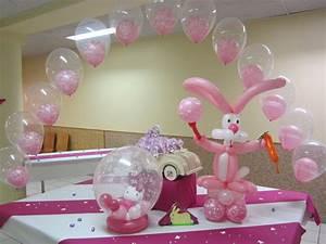 Decoration Pour Bapteme Fille : deco ballon bapteme anniversaire mariage oscar ballons ~ Mglfilm.com Idées de Décoration