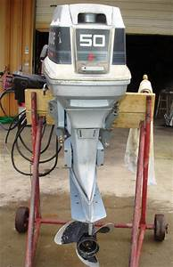 Used, 50, Hp, Evinrude, Outboard, Boat, Motors, For, Sale