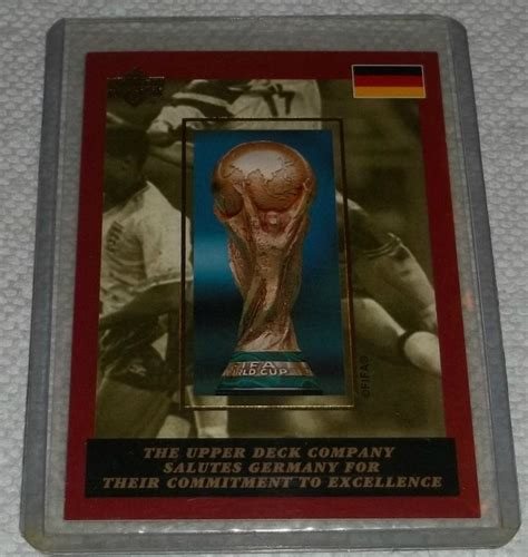 1994 upper deck fifa world cup soccer germany redemption