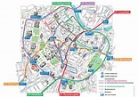 Vienna Attractions Map PDF - FREE Printable Tourist Map ...