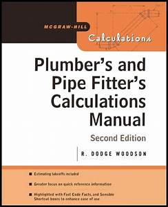 Plumbers Pipe Fitters Calculations Manual