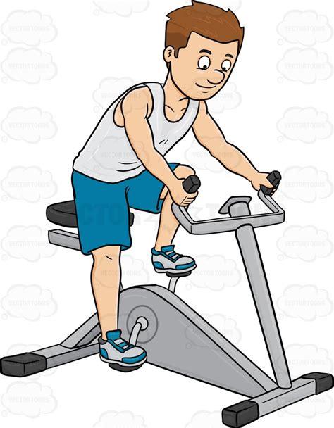 Bike Riding Clip Art Exercise Cartoons