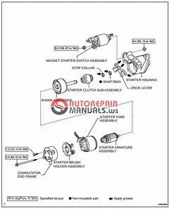 Free Download  Toyota Yaric Repair Manuals  Starting