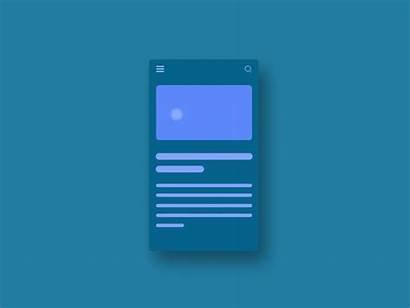 Transition Screen Icon Menu Dribbble Animation App