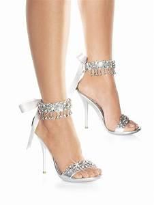 Rhinestone Teardrop Sandal Wedding Shoes Wedding Shoes