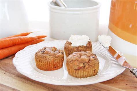 carrot cake muffins   cream cheeses  cheese