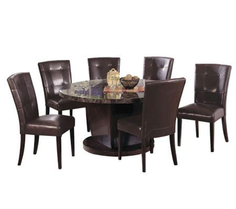 black marble dining room set by acme furniture