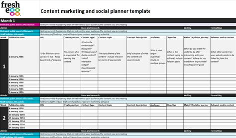content strategy template fresh egg s brilliant seven point content strategy template