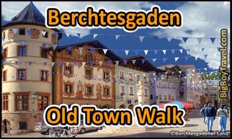 berchtesgaden walking  map  town guide