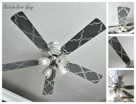 painting ceiling fan blades batchelors way office redo custom ceiling fan blades