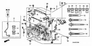 Engine Wire Harness For 2008 Honda Odyssey