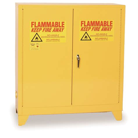 Flammable Safety Cabinet 30 Gallon by Eagle 30 Gal Flammable Liquid Cabinet With Legs Gempler S