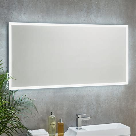 shield mosca illuminated mirror  shaver socket