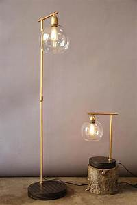 Gold globe floor lamp for Gold globe floor lamp