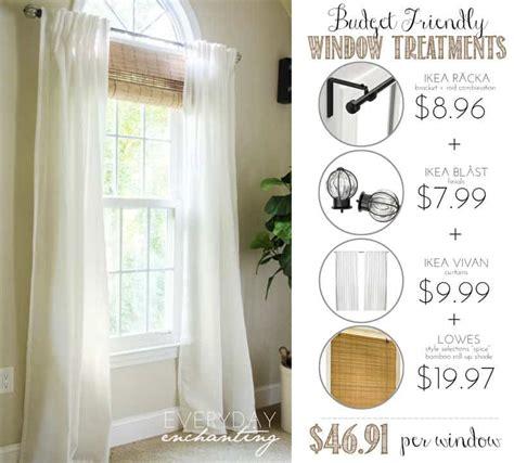 Farmhouse Kitchen Ideas On A Budget - stylish budget window treatments