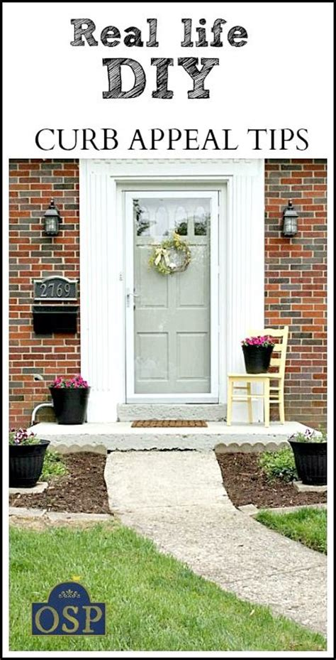 12 Diy Curb Appeal Tips On A Budget  New Life, Real Life