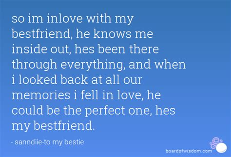 I Fell Love My Best Friend Quotes