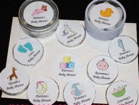 Personalized Stickers For Baby Shower - personalized baby shower labels envelope seals