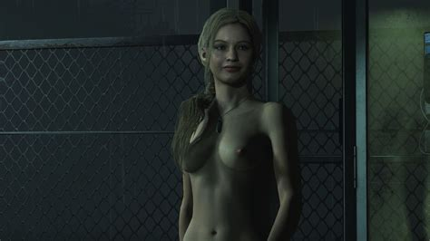 Resident Evil 2 Claire Nude Mod Far From Horrifying