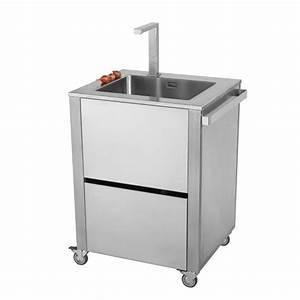 Evier D Exterieur Pour Jardin : meuble de cuisine avec evier inox evier de cuisine inox ~ Premium-room.com Idées de Décoration
