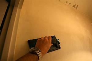 lissage mur avant peinture choosewellco With poncer mur avant peinture