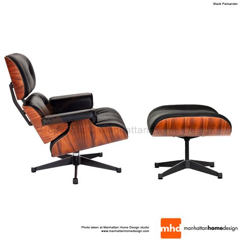 eames lounge chair replica black manhattan home design