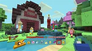 Minecraft Adventure Time Mash Up Pack Out For Console