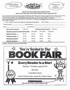 book fair volunteer flyer bing images With scholastic book fair flyer template
