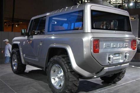 ford bronco diesel exterior interior release date