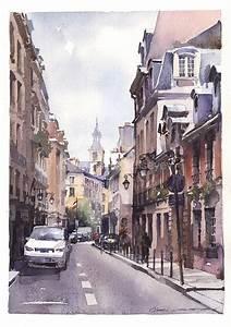 paintings watercolor artworks by artist vladislav