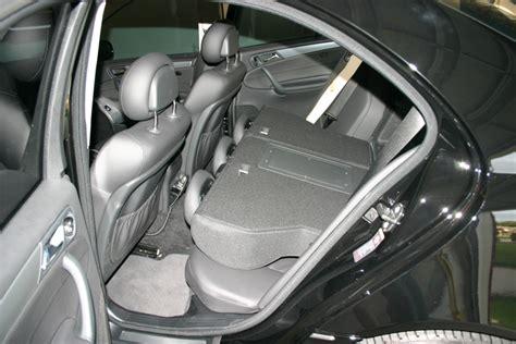rear folding seats ski sack retrofit removing