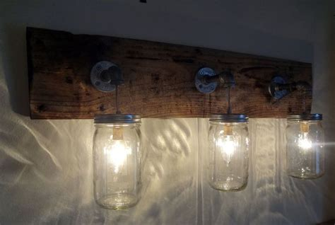 Rustic Shabby Chic Barn Wood Mason Jar Hanging Light Fixture Primitive Diy Air Cleaner Water Kitchen Island Table Combo 6 In 1 Magic Stick Cw Coil Winder Kit Barbell Weight Mermaid Message Board Harley Beaded Collar Necklace Tutorial Build A Bar Cabinet