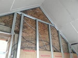 Doubler Un Mur En Placo Sur Rail : placo grande hauteur 2 reussir ses travaux ~ Dode.kayakingforconservation.com Idées de Décoration