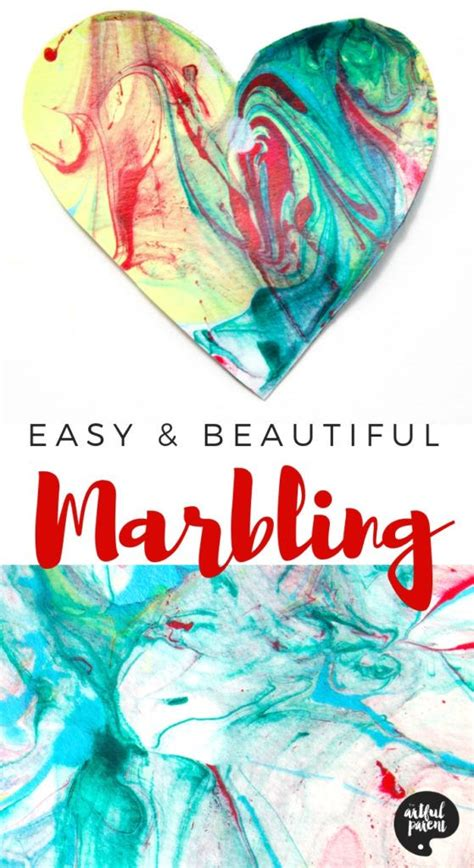 paper marbling  acrylic paint  liquid starch art
