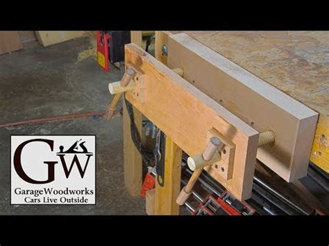 build  twin screw vise youtube