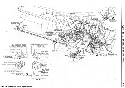 Ford Falcon Wiring Diagram For Instrument Panel Light