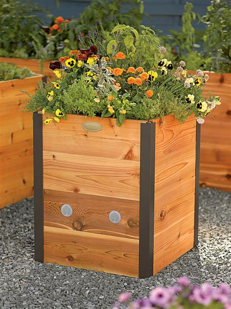 Elevated Garden by Mail Order Raised Beds Hgtv
