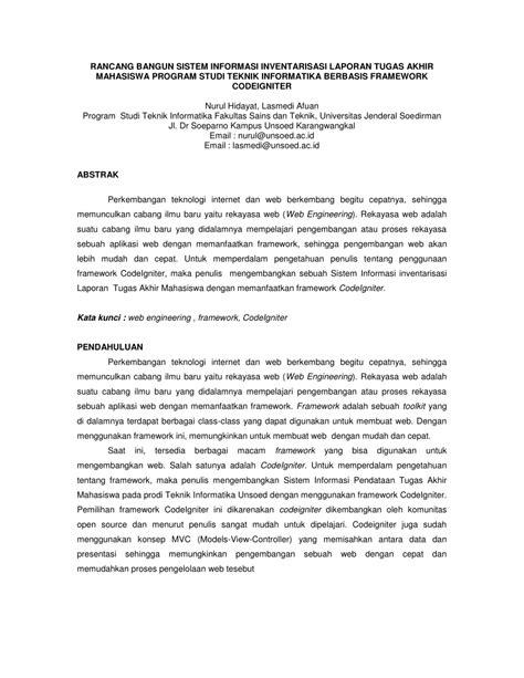 (PDF) RANCANG BANGUN SISTEM INFORMASI INVENTARISASI
