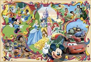 Disney Group Characters