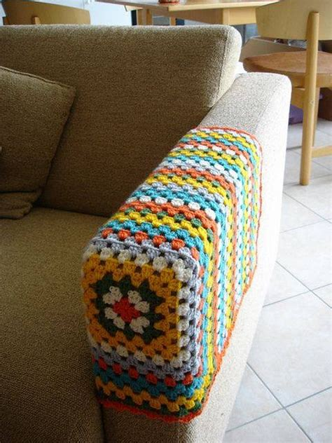 Crochet Pattern For Armchair Covers by Ideas For Easy Crochet Creations Upcycle