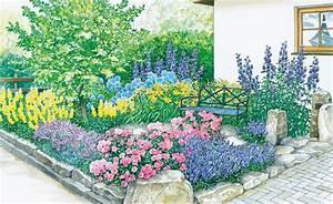 Blumenbeete Zum Nachpflanzen : vom vorgarten zum vorzeigegarten vorher nachher inspirationen f r den garten ~ Yasmunasinghe.com Haus und Dekorationen