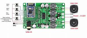 This Amplifier Board Features Beken Bk3266 Bluetooth 5 0 Audio Soc