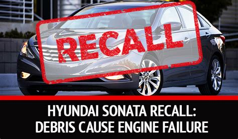 To replace key engine parts because a manufacturing problem could cause them to fail. Why Are 470,000 Hyundai Sonata Being Recalled?