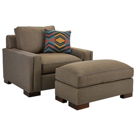 1 1 2 chair and ottoman broyhill furniture rocco chair 1 2 and ottoman with