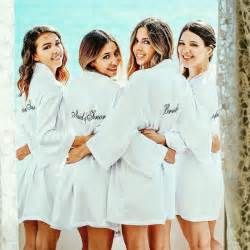 robes for bridesmaids satin bridesmaid robes personalized bridesmaid robes customized robes