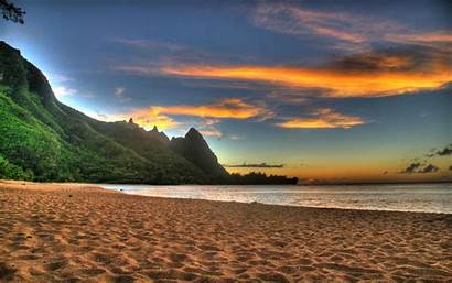Sunset Desktop Beach Windows Background Pc Wallpapers