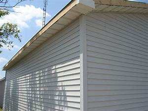 Siding soffit 24 x 30 pole barn garage construction for Barn siding menards