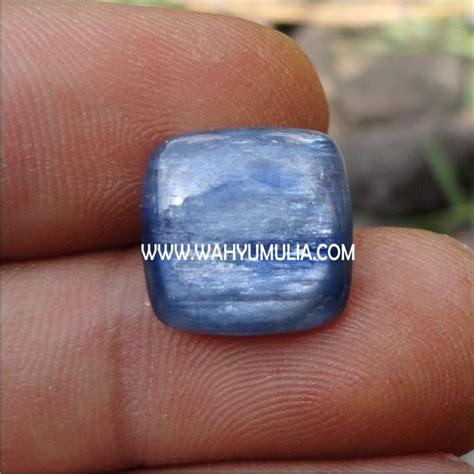 batu blue kyanite kode 158 wahyu mulia