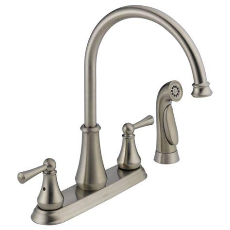 handle kitchen faucet  spray  ss delta faucet