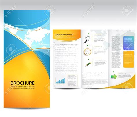 Templates For Brochures Microsoft Word by Fancy Microsoft Word Template Brochure Inspiration